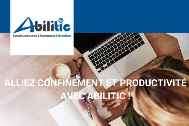 Alliez confinement et productivité avec Abilitic !